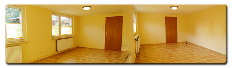 Zimmer 1 [EG, 23,31 m², unmöbliert, ein großer Raum]